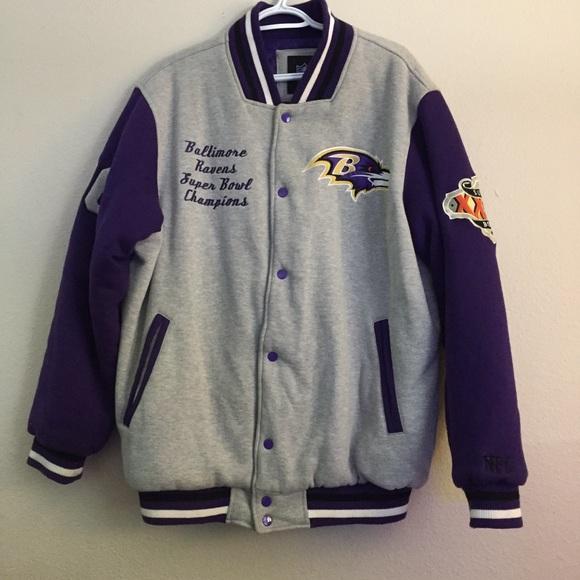 timeless design 36f33 cf86a Baltimore Ravens Super Bowl XXXV Varsity Jacket